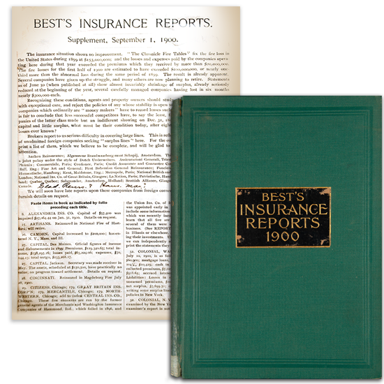 Original AM Best Insurance Reports