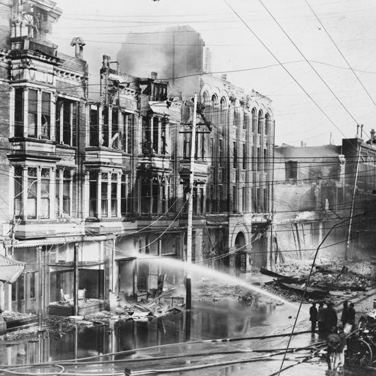 San Francisco Earthquake and Conflagration Historical Photo