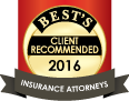 Best's Client Recommended 2016 | Insurance Attorneys