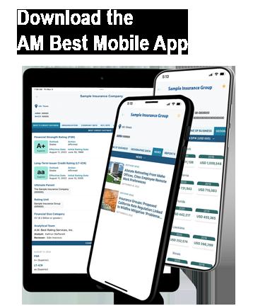 A.M. Best Rating Mobile App