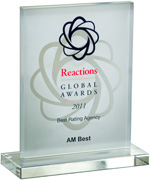 2011 Best Global Rating Agency
