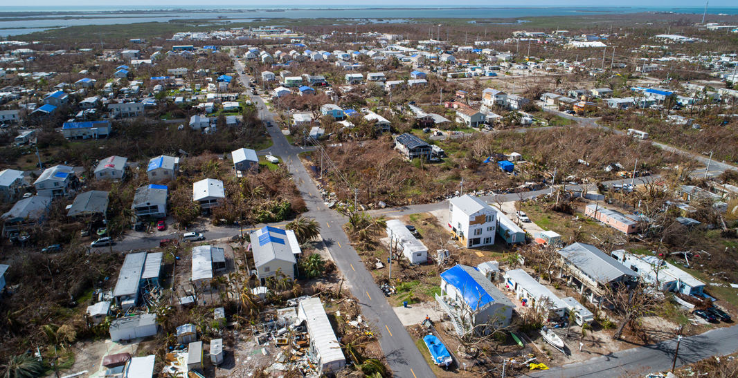 POWERFUL FORCE: Current reinsurance market conditions are feeling the effects of loss creep from storms like Hurricane Irma in 2017, which, by some accounts, destroyed roughly 25% of homes in the Florida Keys.