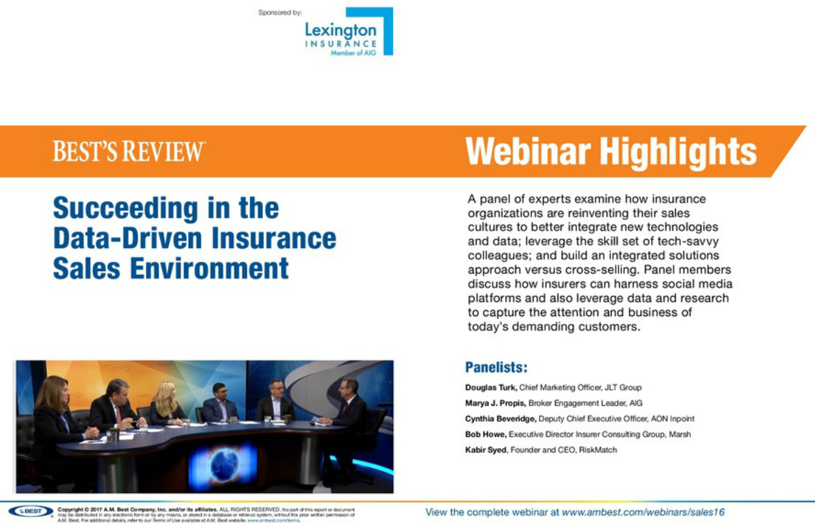 Highlight: Succeeding in the Data-Driven Insurance Sales Environment